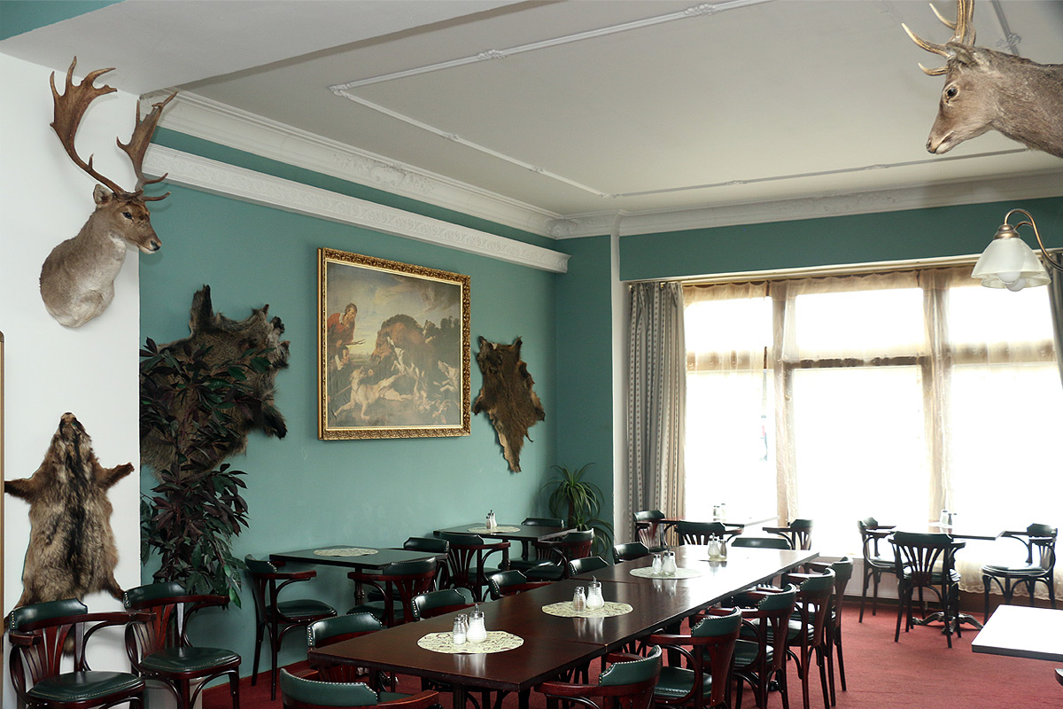 Hotel Černý orel Žatec *** - lobby salonek