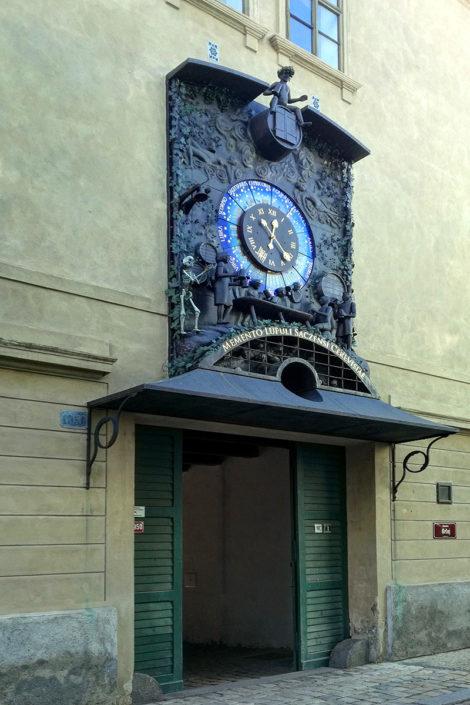 Chmelový orloj v Žatci