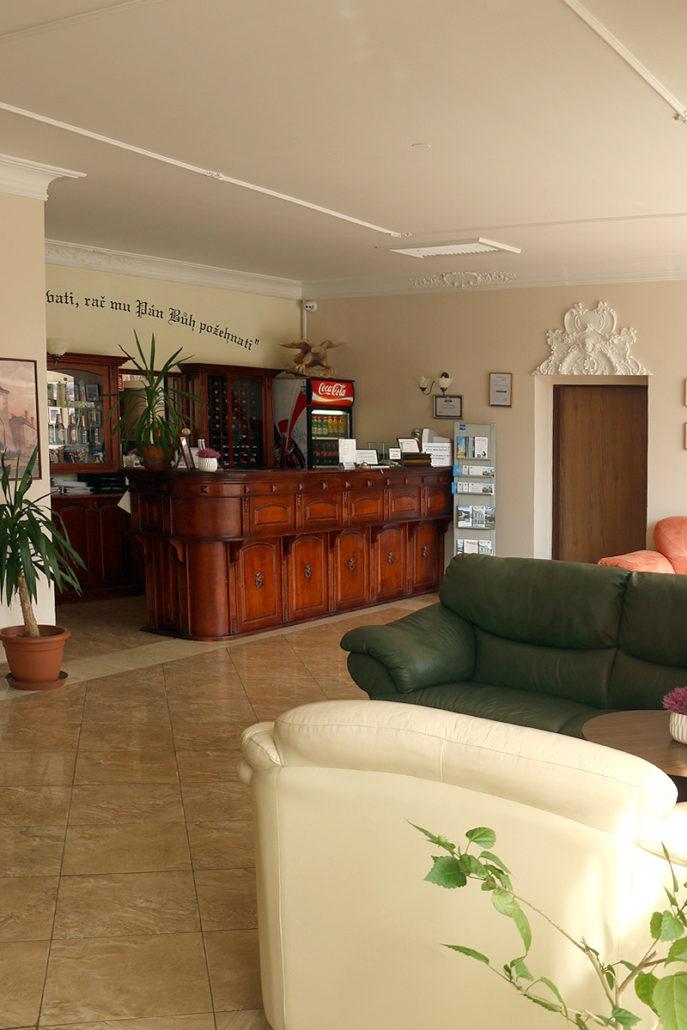 Recepce - Hotel Černý orel Žatec ***