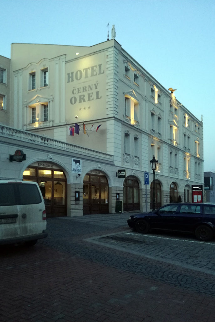 Budova - Hotel Černý Orel Žatec ***