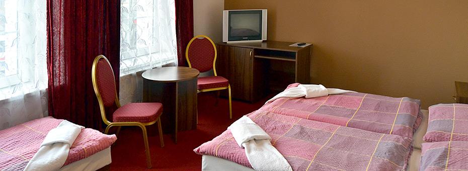 Hotel Černý orel Žatec *** - pokoj Grand
