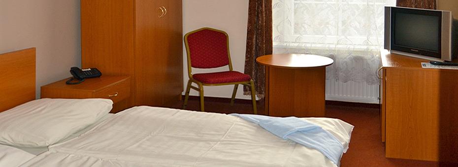Hotel Černý orel Žatec *** - pokoj Standard
